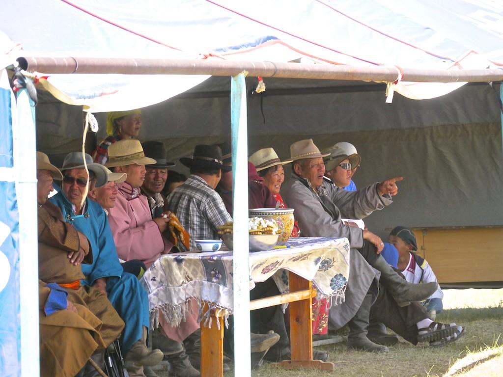 Watching Naadam Festival