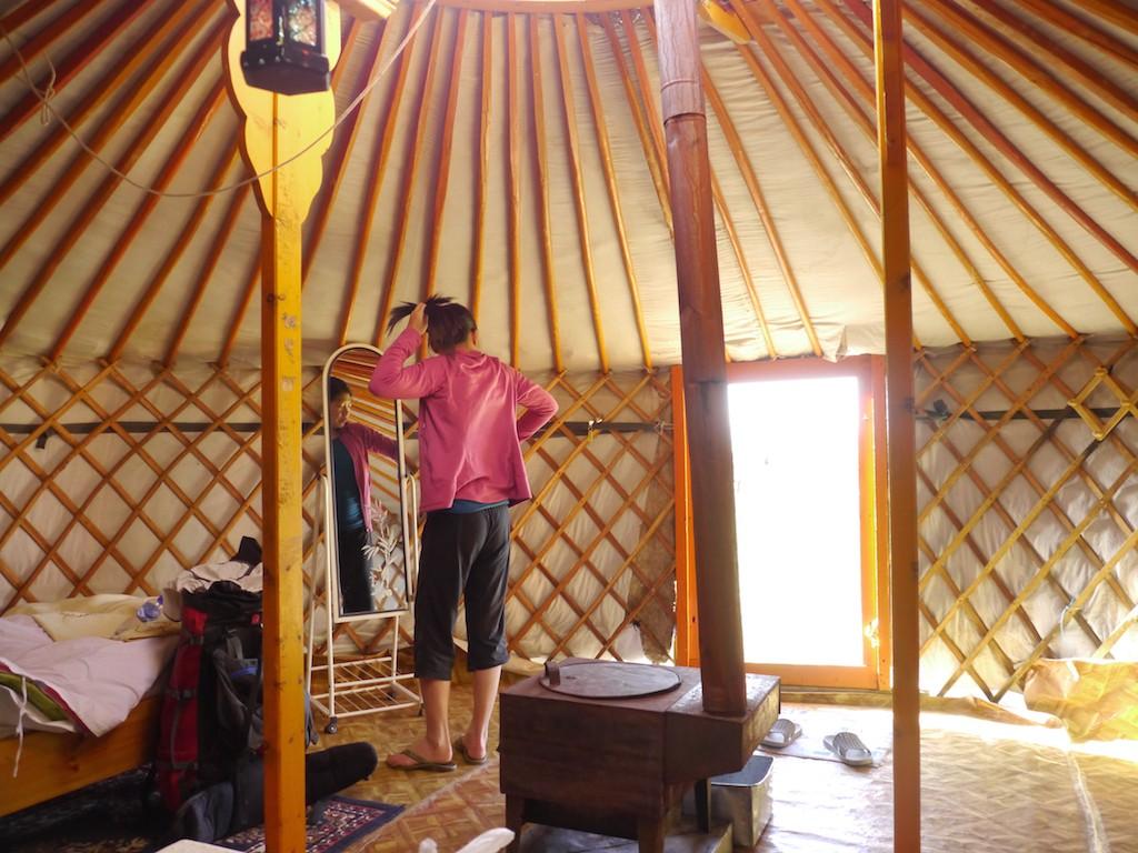Szu-ting Yi ger Mongolia